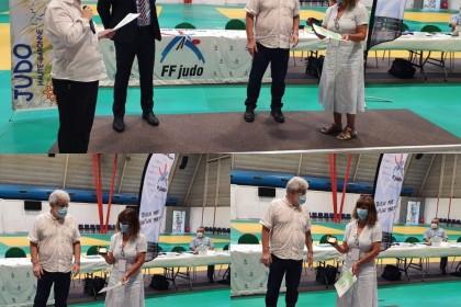 Une médaille d'or de la FFJDA pour une enseignante de notre Club !