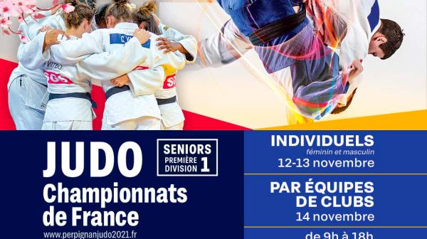 Championnats 1ère Division Seniors Individuels et par Equipes de Clubs - Perpignan